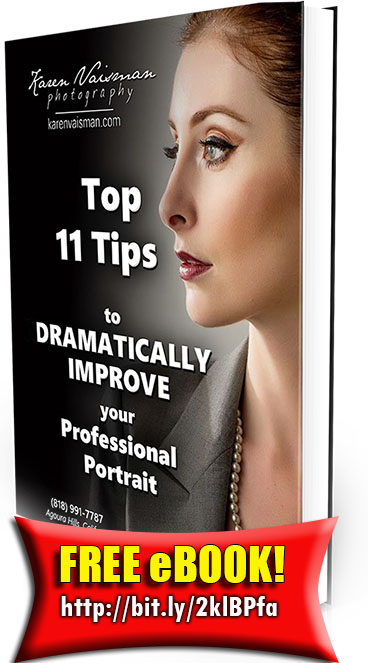 "CLICK to Download a FREE eBOOK ""Top 11 Tips to DRAMATICALLY IMPROVE your Professional Portrait"