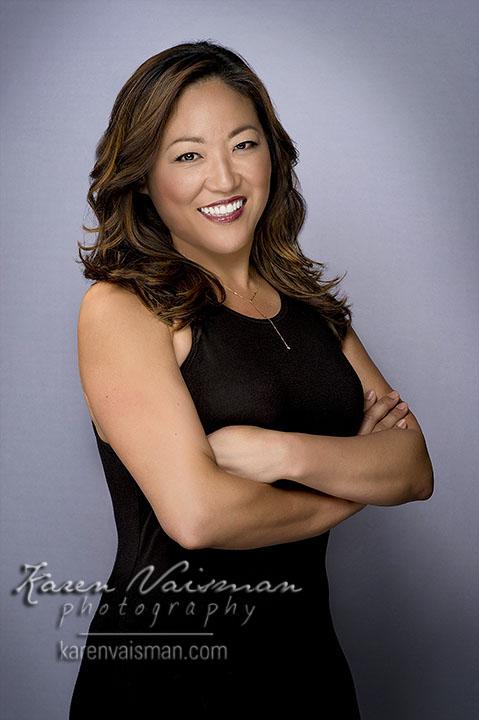 Female Executive Portraiture with a cutting edge...