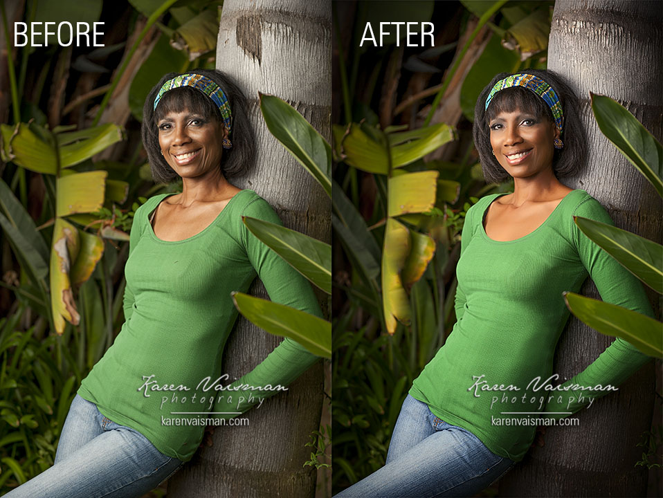 Gentle enhancements make a difference. -