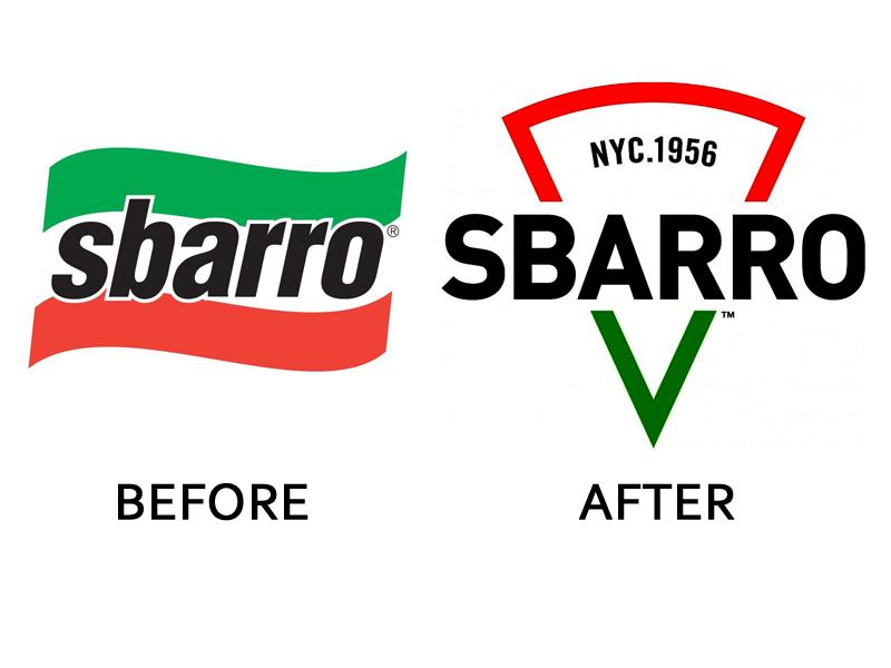 Sbarro Logo Example - RedbudCreative.com
