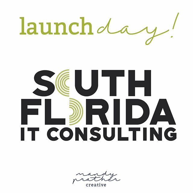 Wheeee! So thrilled to finally announce this new launch and show off the branding and web design for South Florida IT Consulting! Y'all go check em out. I love the mix of color, imagery, and boldness in the final product!