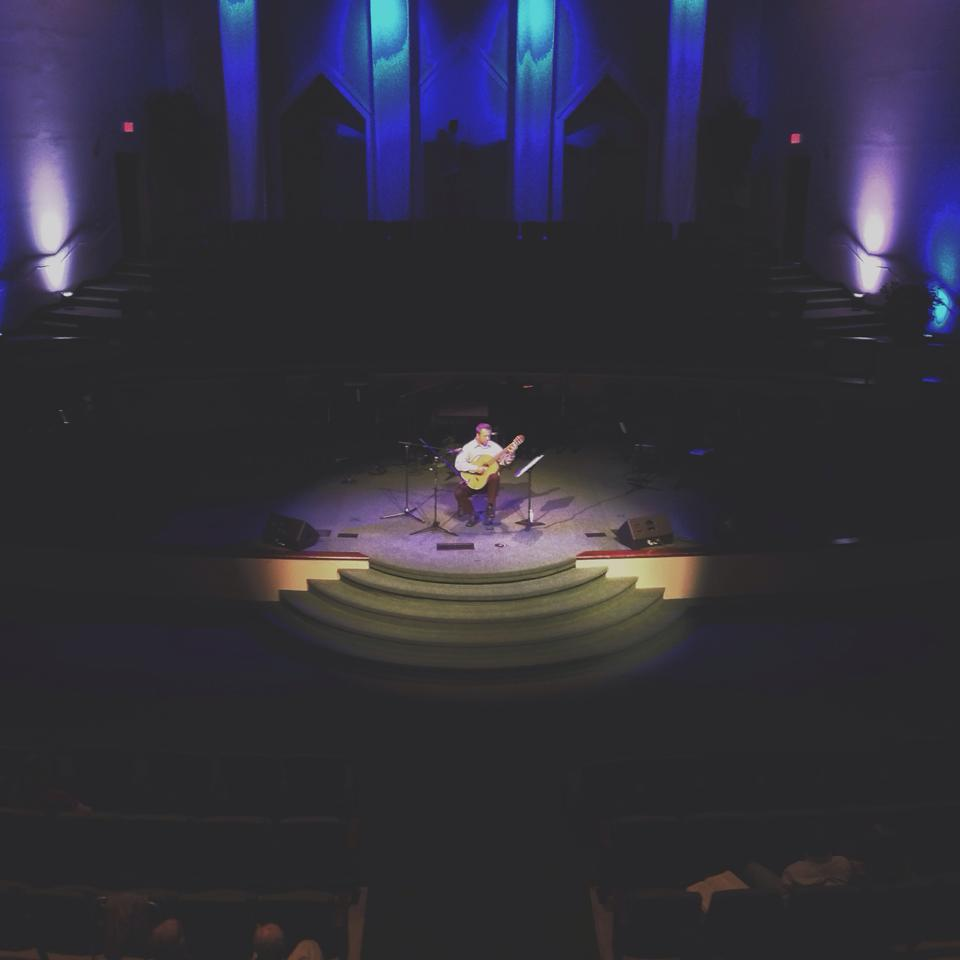Classical Guitar and Hymns at Lawndale Baptist Church.