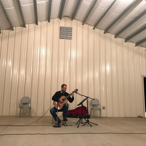 Performing at Mt. Lebanon BC, October, 2017.