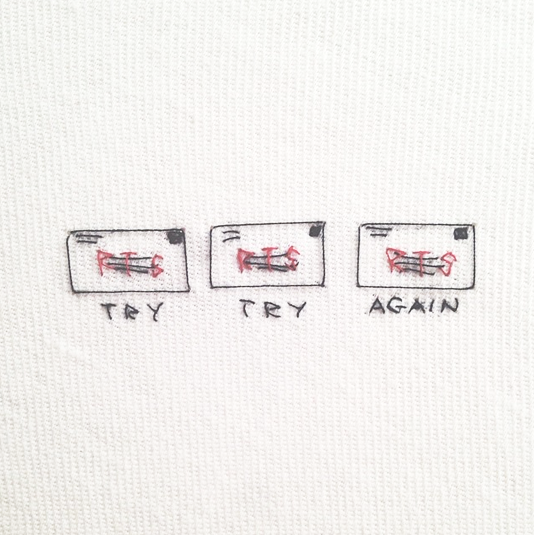 HAND EMBROIDERY - TEXT