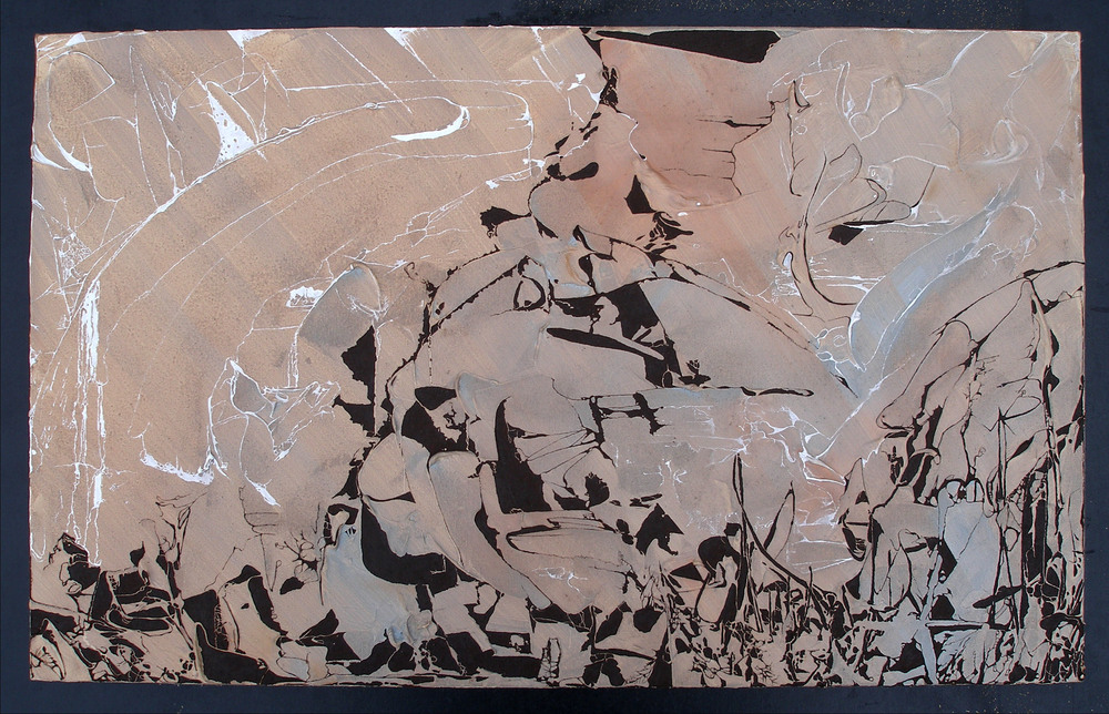 Untitled Gesso Painting