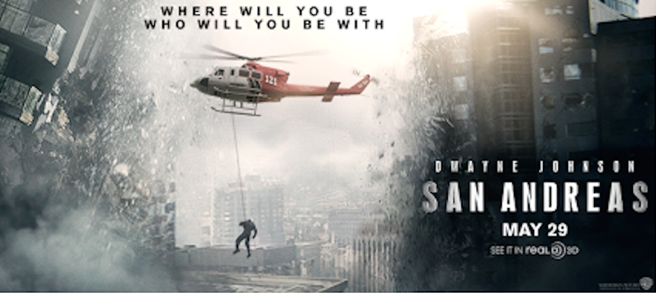"WB ""San Andreas"" Trailer"