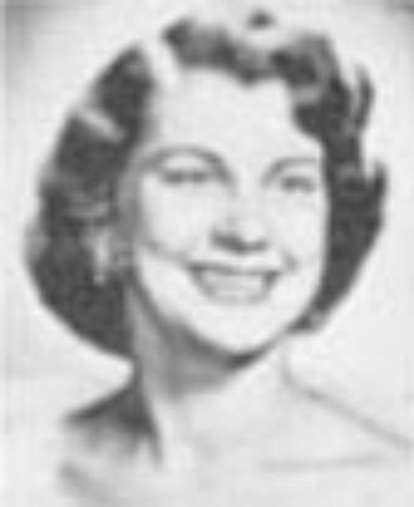 "LaVonne Skalsky Miss Idaho 1954 Hometown: Nampa Talent: Drama ""Children of God"""