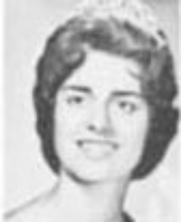 "LaVerda Garrison Miss Idaho 1961 Hometown: Nampa Talent: Dramatic Reading ""The Yellow Wallpaper"""