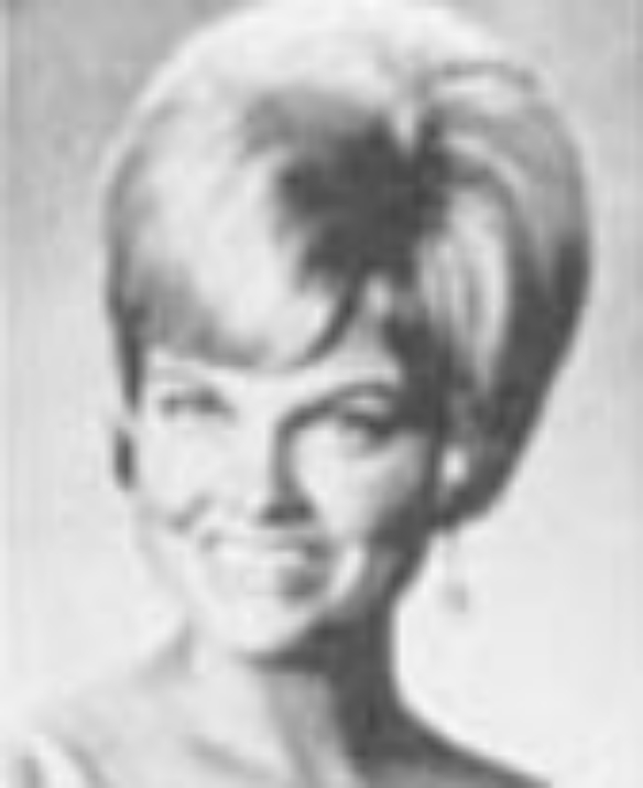 "Cheryl Couch Miss Idaho 1966 Hometown: Twin Falls Talent: Vocal ""I Could Have Danced All Night"""