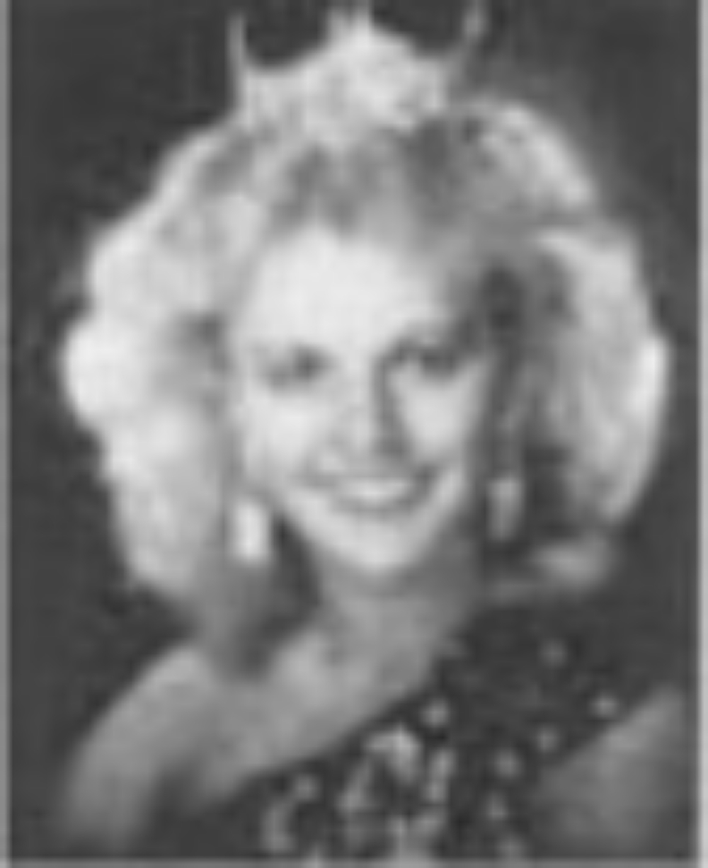 Nanette South  Miss Idaho 1985  Hometown: Rexburg  Talent: Alto Saxophone Solo