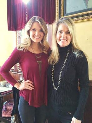 Brittany Lock, Miss Boise 2016 (Left) Amber Armstrong, Miss Boise 1986 (Right)