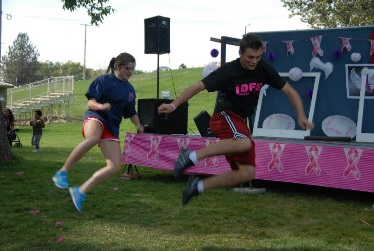 Dance off at the Race for a Cure, Weiser, ID