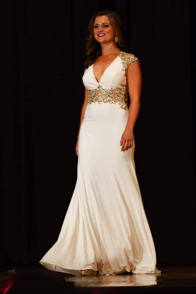 Here's a picture from the evening gown portion of the pageant