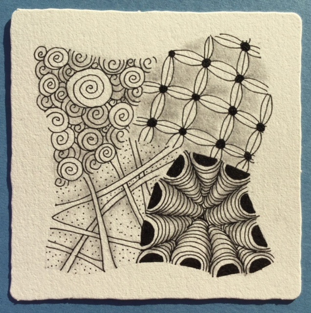 A Basic Zentangle Tile July 2018.jpg