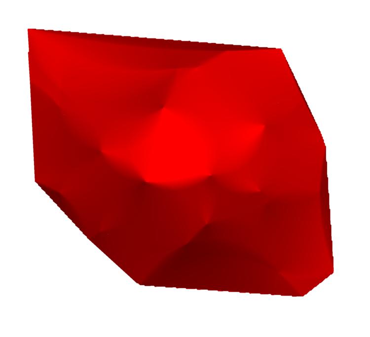 Figure 8:  Voronoi interpolated surface.
