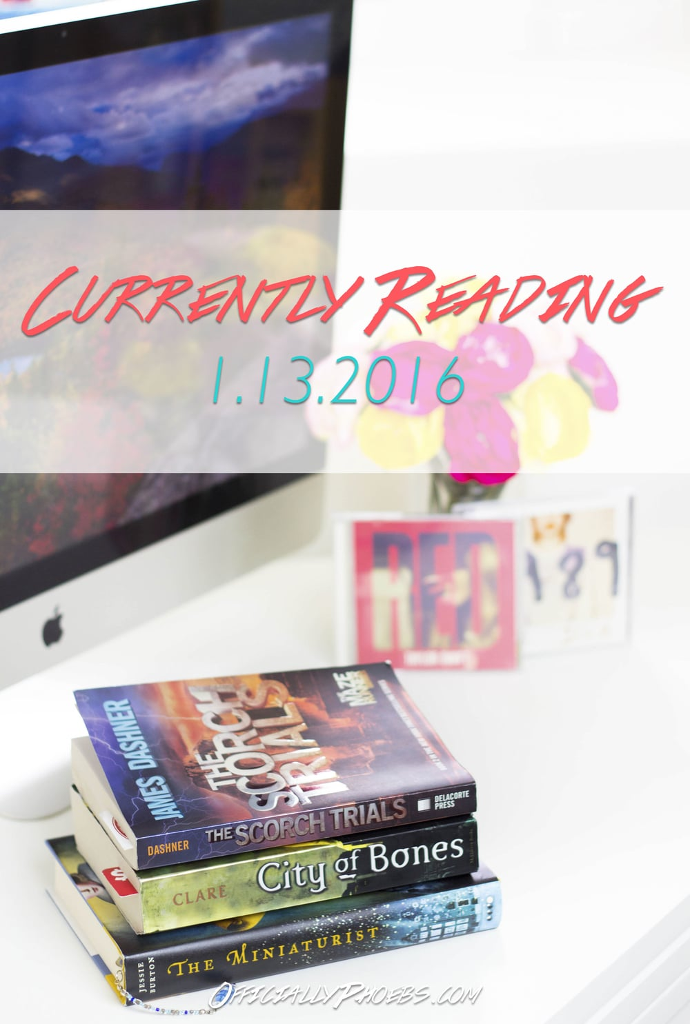 Currently Reading 1.13.2016 | OfficiallyPhoebs Blog