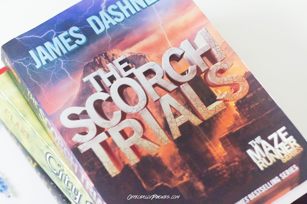 The Scorch Trials by James Dashner | OfficiallyPhoebs Blog