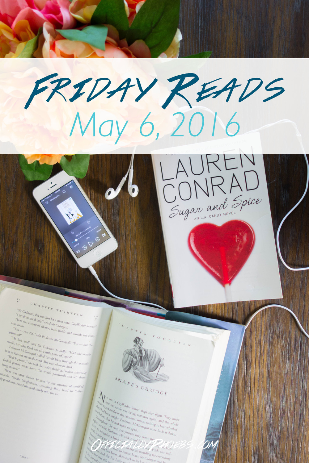 Friday Reads | May 6, 2016 | OfficiallyPhoebs