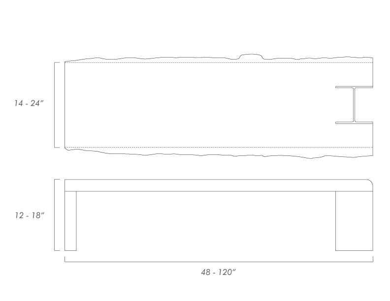 10x42 Bench