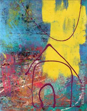 "23. Sunshine    (framed) 24""x18"" $840"