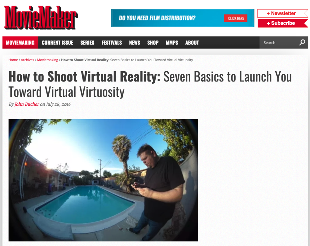 Click   here   to read How to Shoot Virtual Reality...