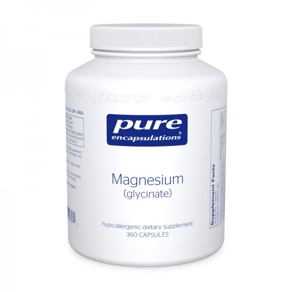 MAGNESIUM GLYCINATE - PURE ENCAPSULATIONS