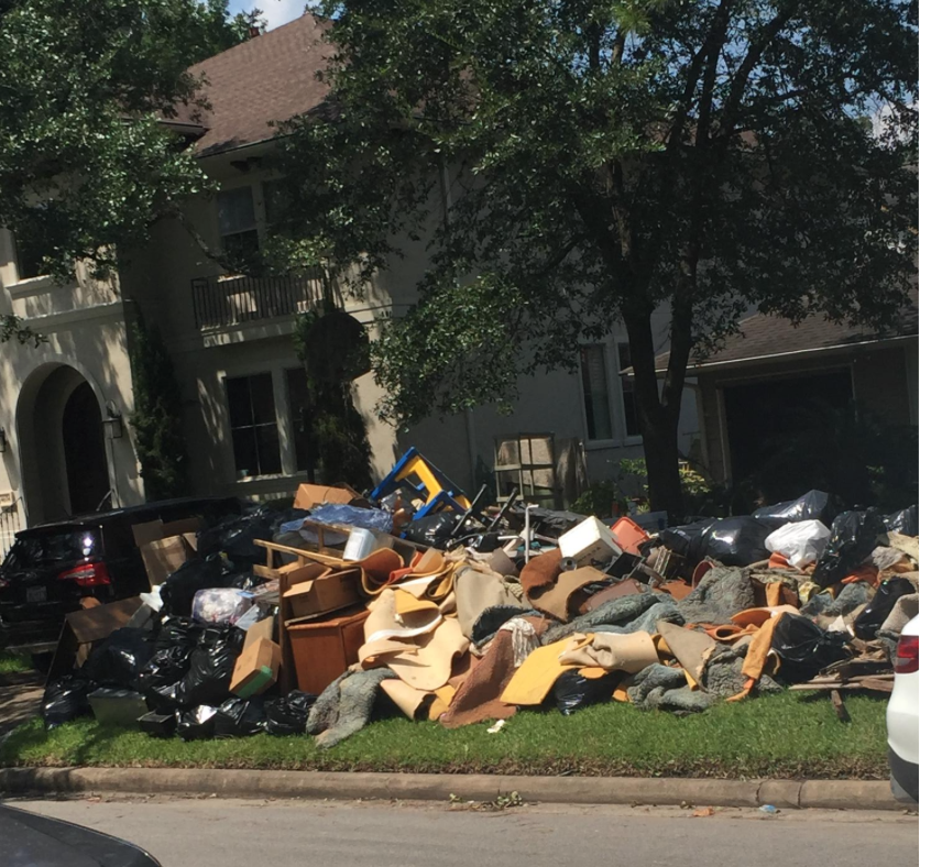 A lifetime of memories are curbside for so many of my neighbors.