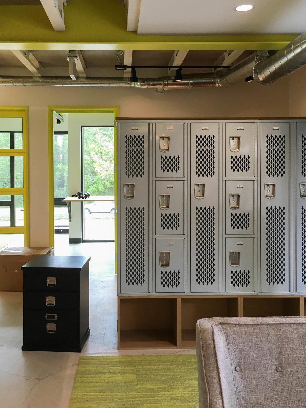 Surround Architecture - Lems Shoes - Lockers