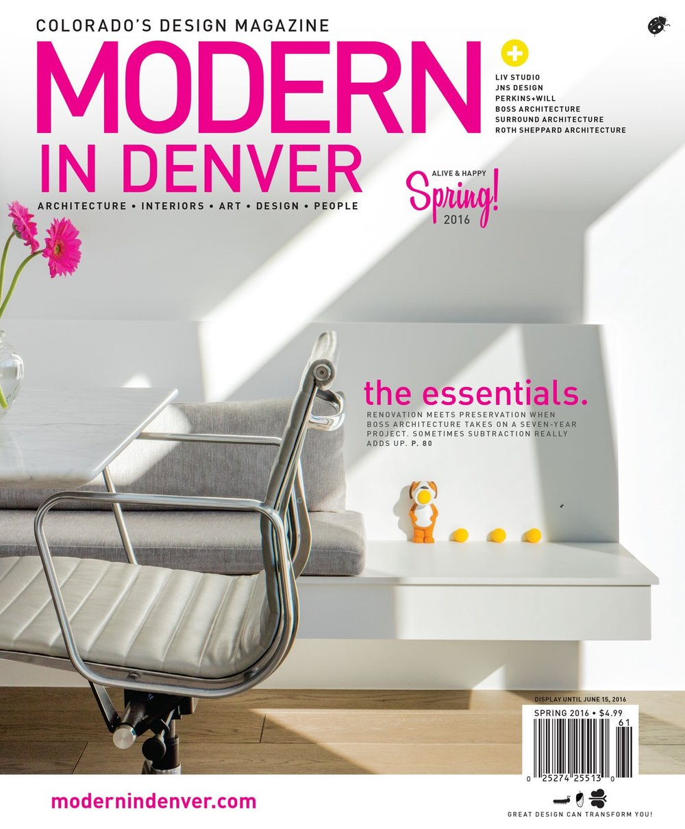 Modern in Denver - Spring 2016 - Cover - Surround Architecture