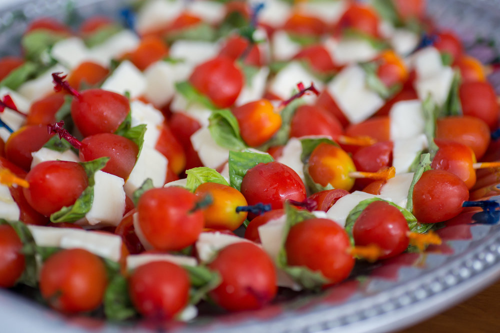 Caprese Skewers |  Get Recipe Here