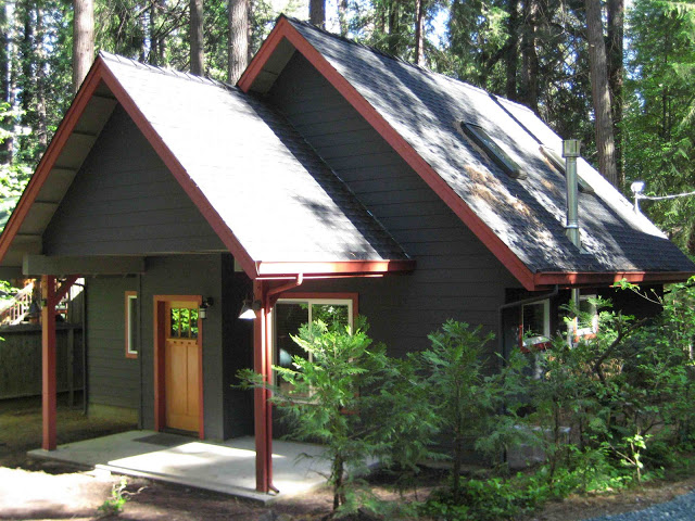 How To Select Paint Colors For A Mountain Cabin Story