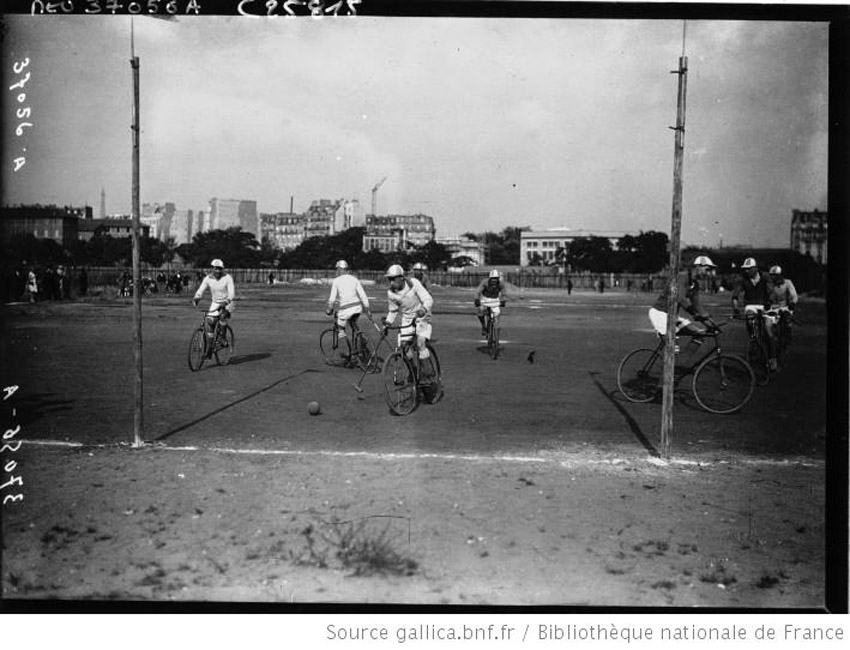Paris 1926 Bike Polo