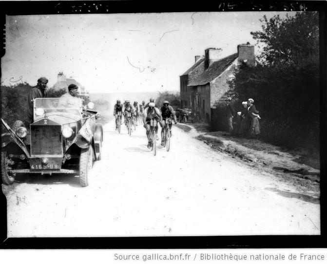Route de Saint Hégoumèné 1926 Sellier et Decorte