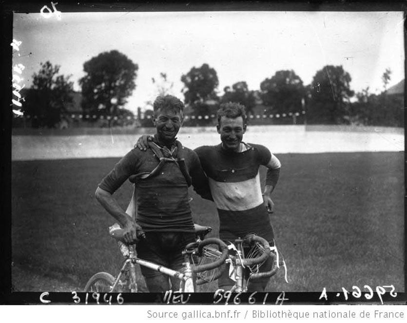 Frantz et Leducq après le Tour de France 1928