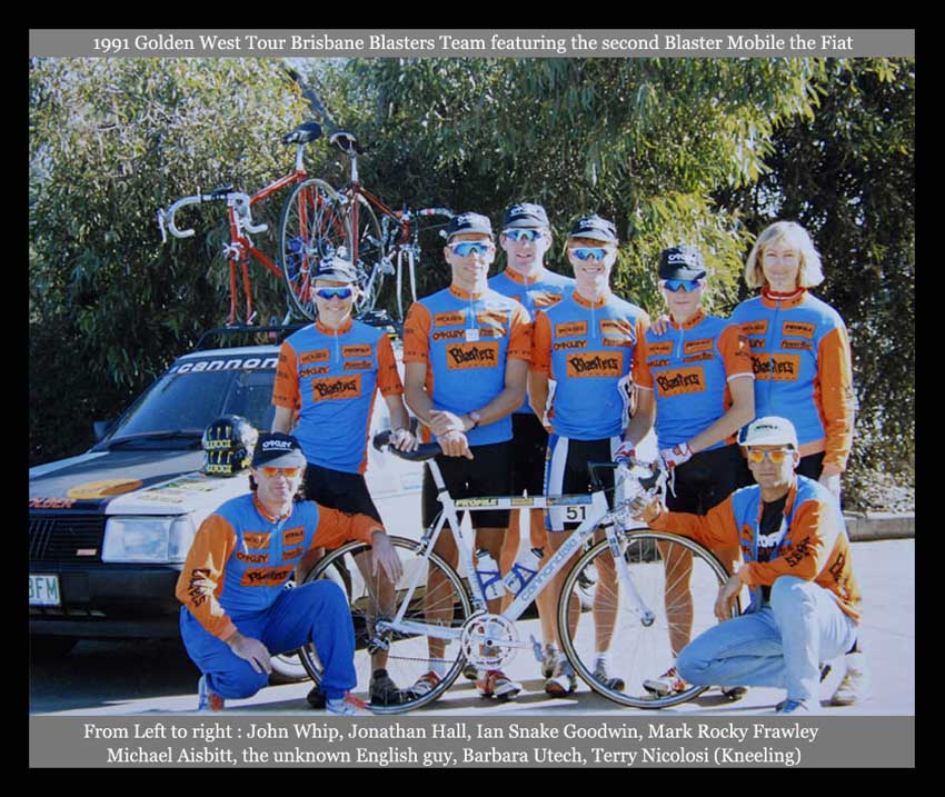 Brisbane Blasters Cycling Team