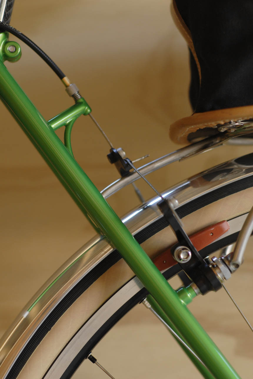 Llewellyn custom bikes randonneur
