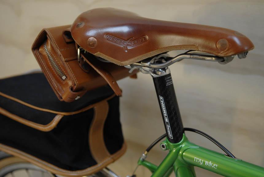 Brooks Bike Seat >> Llewellyn Custom Bicycles Randonneur Voyageur Project — Velo Aficionado
