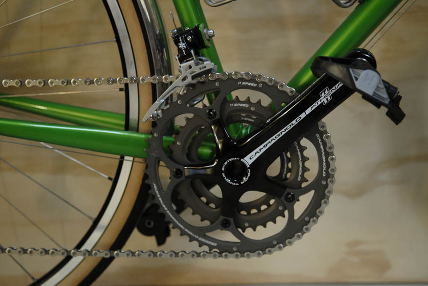Campagnolo Athena triple chainrings