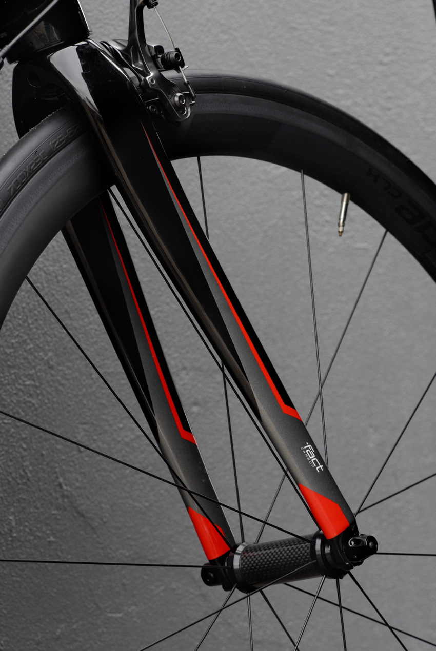 FACT Carbon Tarmac Forks