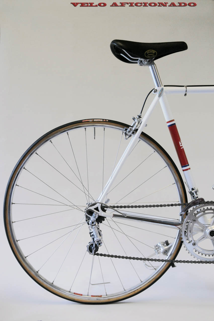 Campagnolo equipped Merckx Faema by Joe Cosgrove, with Joe's Frezoni bikes stamp on the build