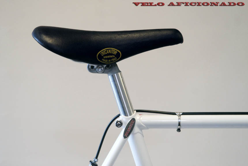 Campagnolo seat post and a NOS Unicantor saddle