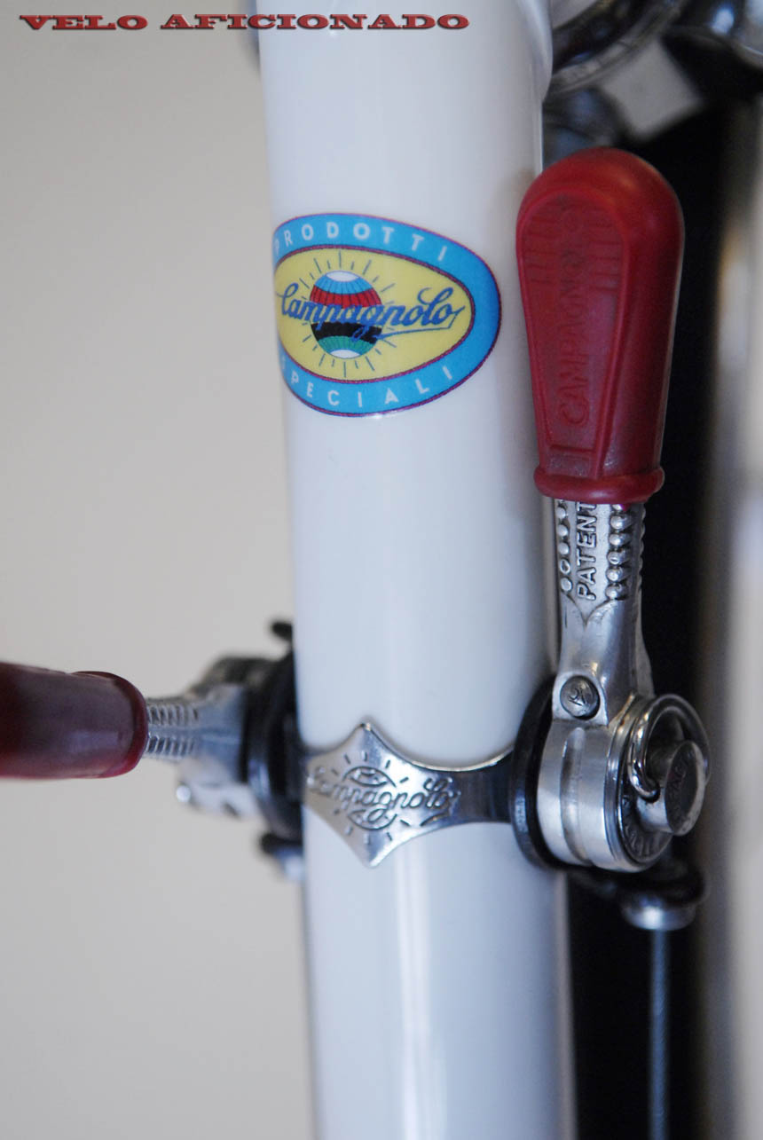 Campagnolo record clamp on friction shift levers