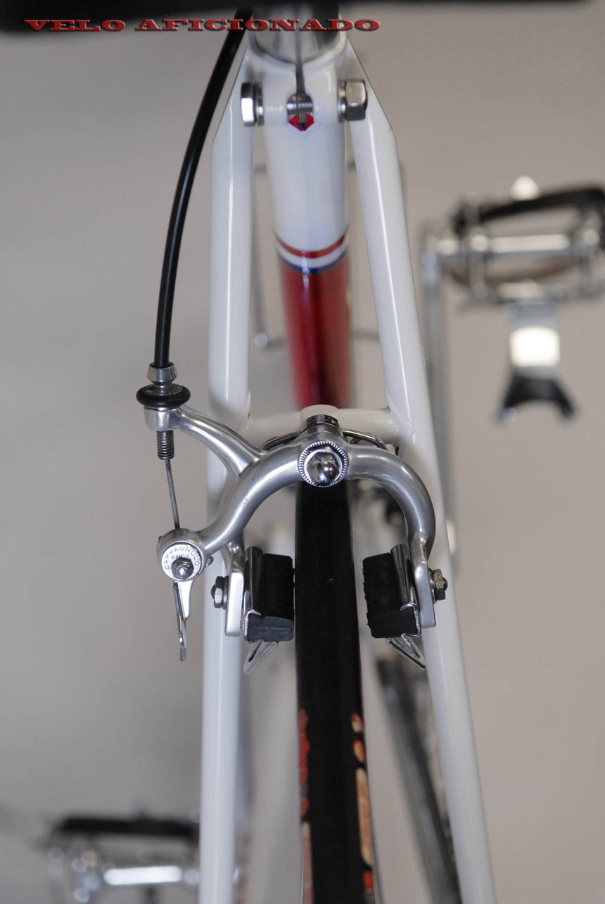 Campagnolo on Joe Cosgrove's Merckx Faema