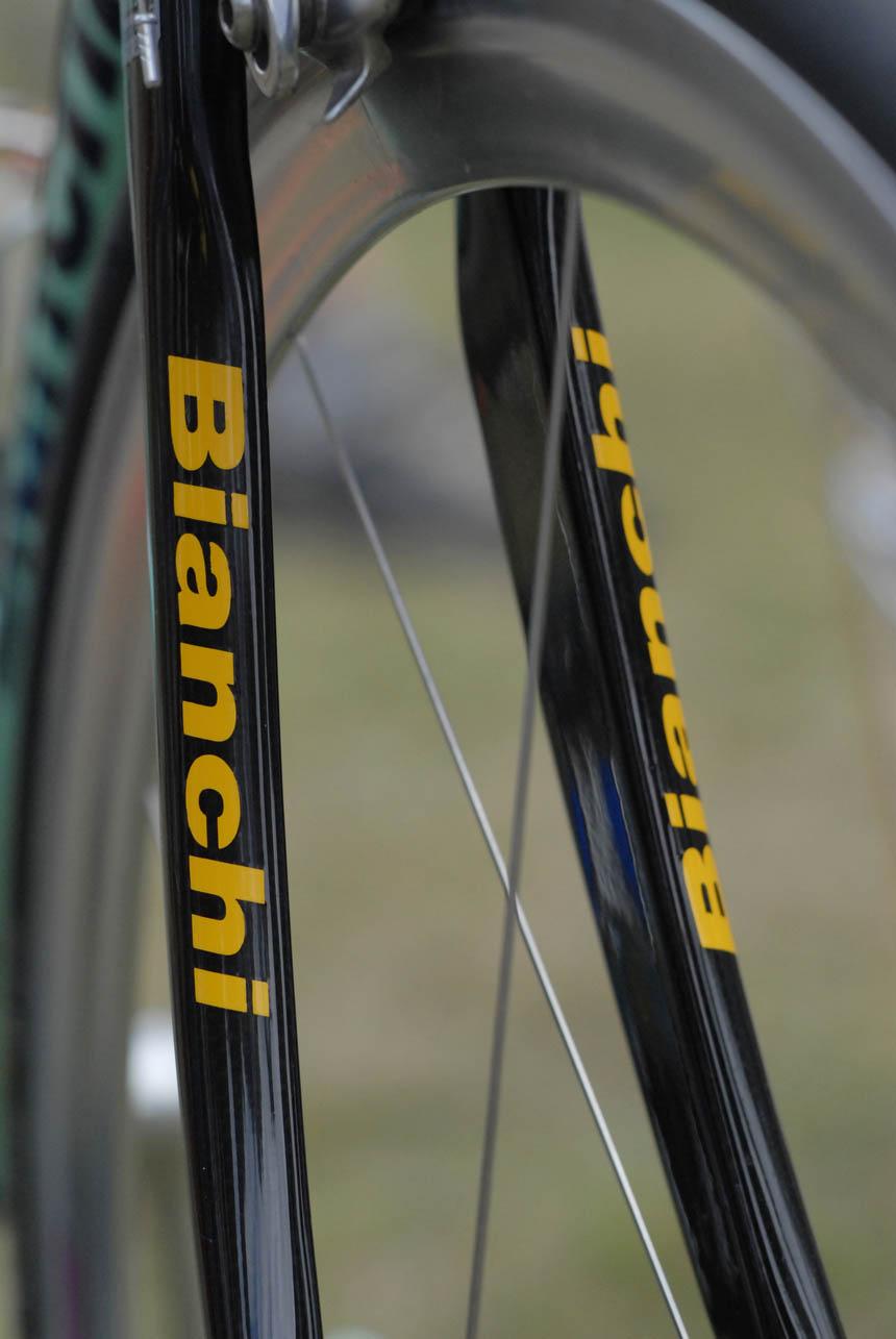 Bianchi Mega Pro forks