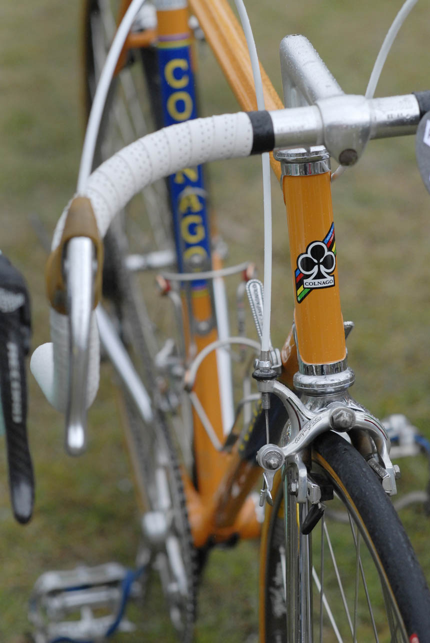 Colnago equipped with Campagnolo