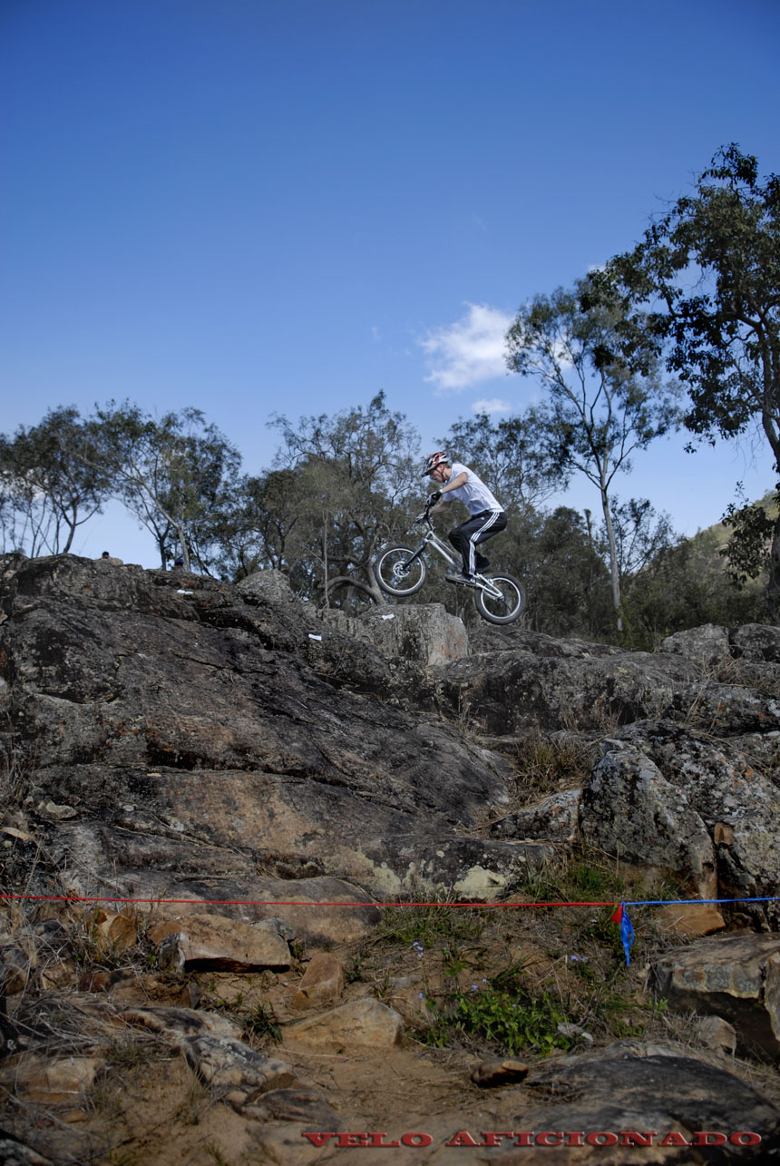 Spectacular scenery for bike trials in Australia