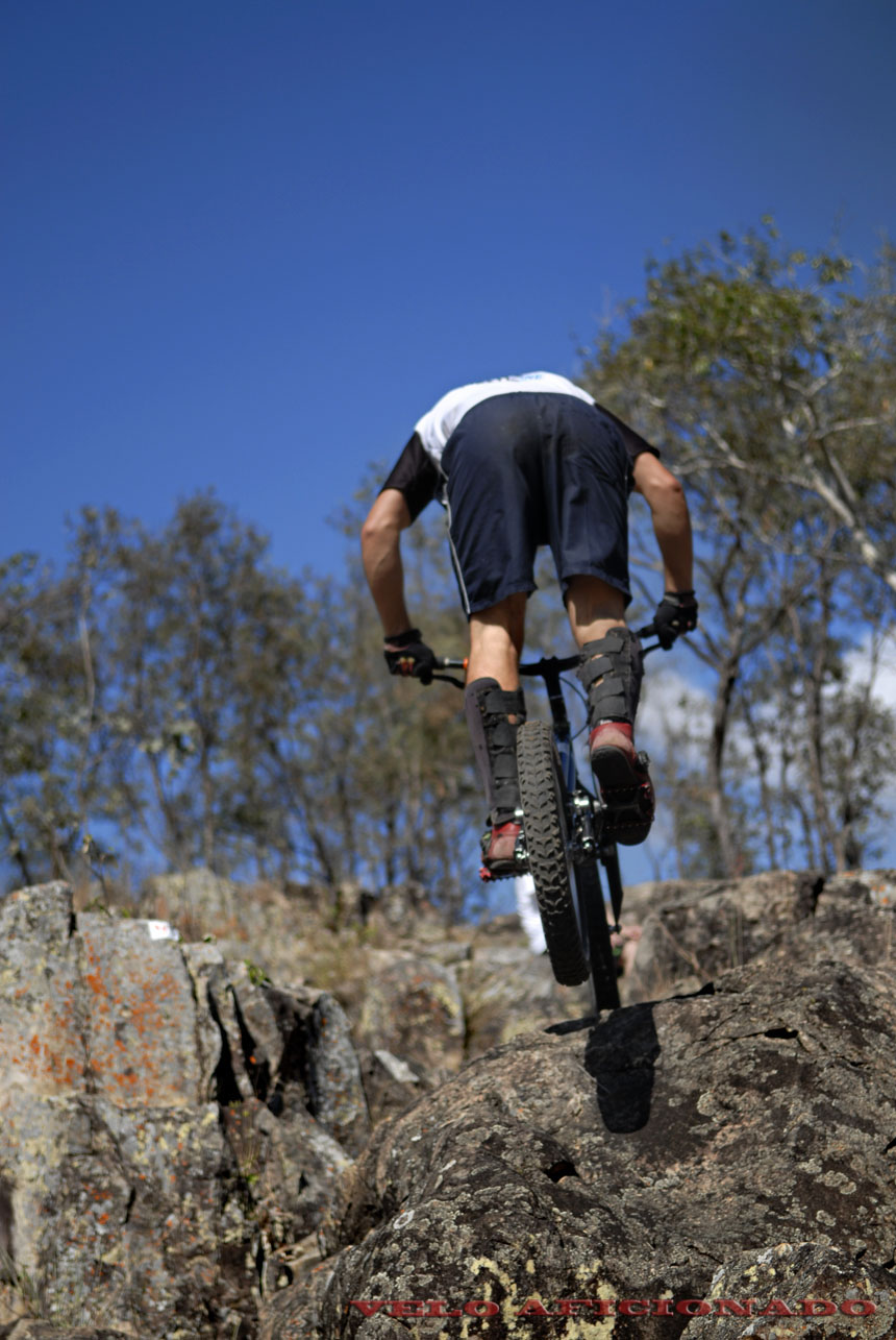 Clear skies and sunny weather at Rockatoo bike trials