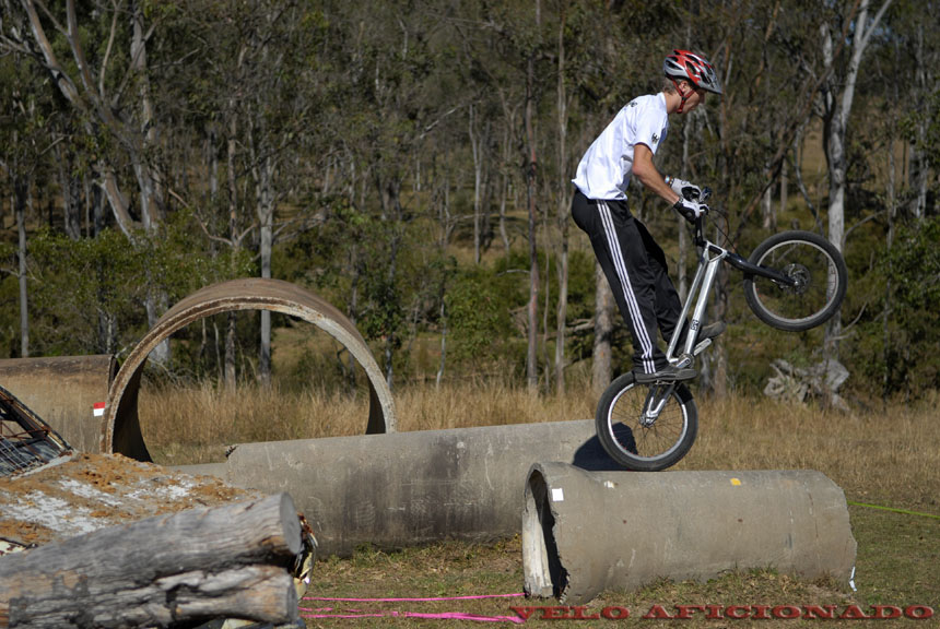 Bike trials south east Queensland Australia