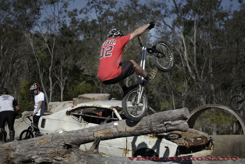 Bicycle trials south east Queensland