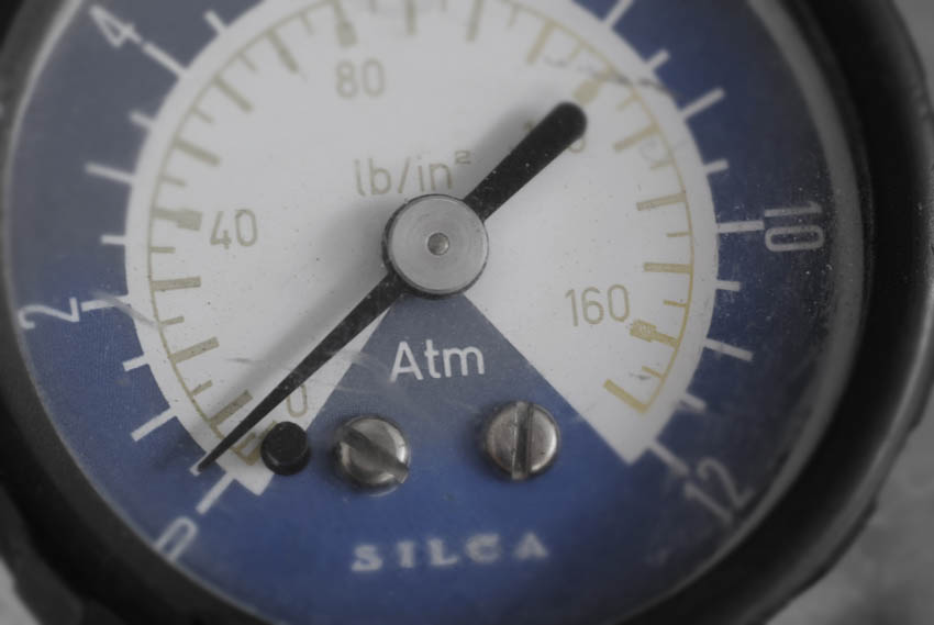 Silc pump gauge